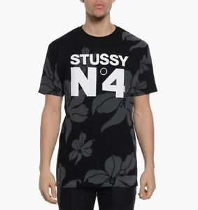 Image is loading Stussy-No-4-Flowers-T-shirt-NWT-Size- 6a7c4bae7