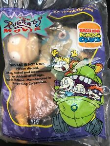 Burger-King-Rugrats-The-Movie-Tommy-Pickles-Sealed-VIACOM-1998-New-FREE-SHIP