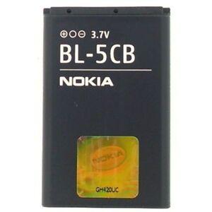 REPLACEMENT-BATTERY-ORIGINAL-NOKIA-BL5CB-BL-5CB-OEM-800mAh-3-0Wh-3-7V-AKKU-ACCU