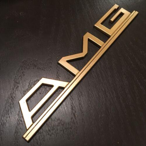 AMG JAPAN PRE MERGER STYLE SEC W126 W124 R107  GEN2 logo GENUINE SIZED !!!