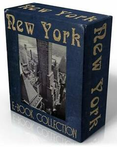 NEW-YORK-CITY-28-rare-historical-vintage-books-on-CD-MANHATTAN-Big-Apple