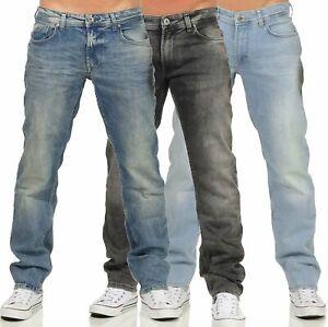 M-O-D-Herren-Jeanshose-Jeans-Hose-Herrenjeans-Gerades-Bein-Straight-Thomas-20