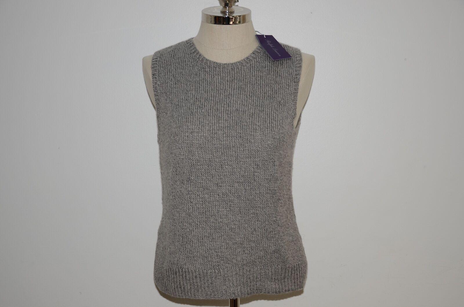 Ralph Lauren Collection Purple Label Hand Knit Cashmere & Silk Vest L