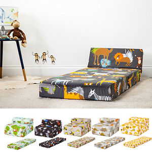 Image Is Loading Children 039 S Chair Bed Fold Out Sleep