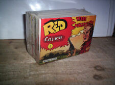RED CARSON STRISCIA SERIE COMPLETA 1/24 ZENIT AUDACE RISTAMPA ANASTATICA NUOVA