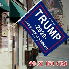 KULA 10Pack TrumpTrump Flag for President 2020 Keep America Great Miniature Flag for Party Decorations,Parades,Election Day Celebration Event Grey