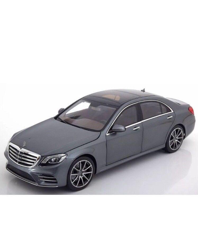 miglior reputazione I-SCALE 2017 Mercedes Benz Benz Benz S Klasse V222 MOPF grigio (DEALER) 1 18nuovo Item   in vendita