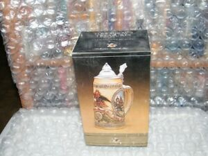 Anheuser-Busch-Tomorrow-039-s-Treasures-5th-in-the-Series-Lidded-Stein-NIB-w-COA