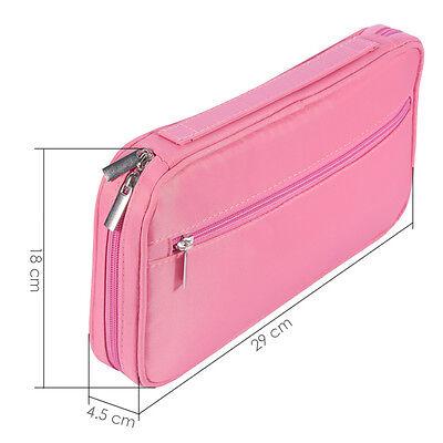 Make-Up Bag Cosmetic Brush Case Storage Toiletry Organizer Artist Travel