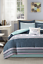 New Girl/'s Teen 7 Piece Full Size Comforter Set Sheets Sham Bed Skirt Bedding