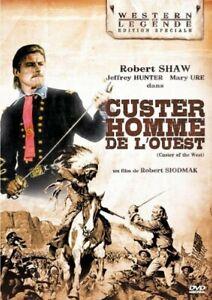Custer-Hombre-de-Oeste-Robert-Shaw-Mary-Ure-Ty-Hardin-DVD-Nuevo