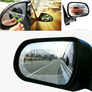 2x-Car-Rear-View-Mirror-Clear-Anti-Fog-Rain-Film-Waterproof-Protective-Film-Hot