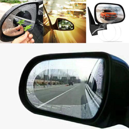 Car Rear View Mirror Clear Anti Fog Rain Film Waterproof Protective Film 2Pcs L