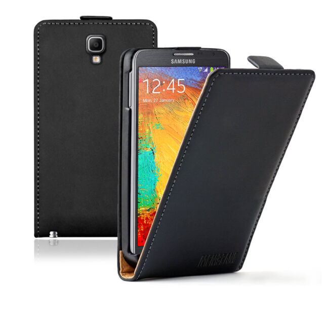 ULTRA SLIM Leather Flip Case Galaxy Note 3 Neo LTE SM-N7505 Cover Pouch Saver