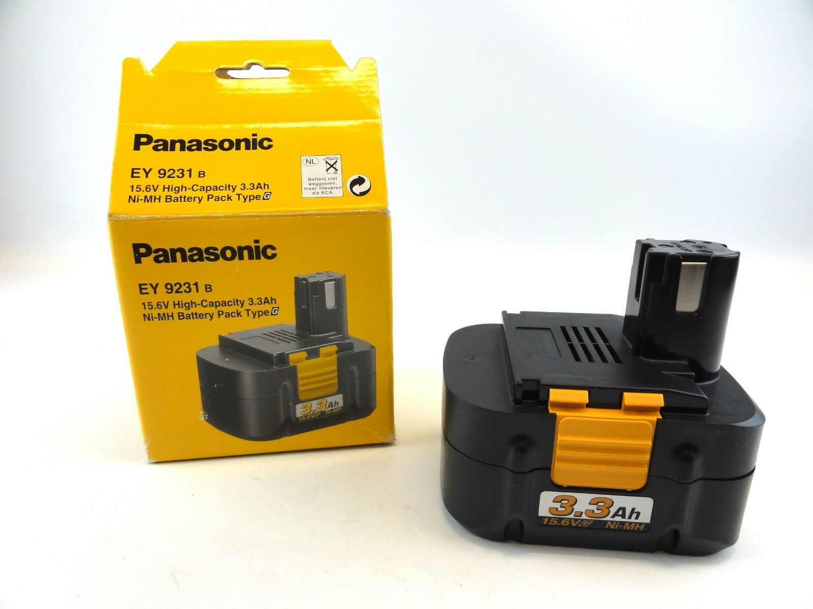 Panasonic Original Neu EY9231 15.6V 3.3ah Ah Akku für EY6431 EY6432 EY6535