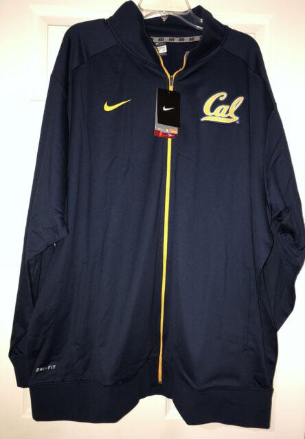 New Nike Dri-Fit Men's 3XL Cal Berkeley Full Zip Football Team Issued Jacket