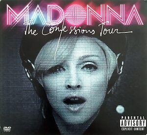 Madonna-DVD-CD-The-Confessions-Tour-Digipak-Europe-EX-EX