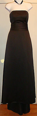 Forever Yours International Black Formal Dress Size 4