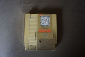 The-Legend-Of-Zelda-Nintendo-NES-Gold-Cart-NES-vintage-authentic-NINTENDO-Game