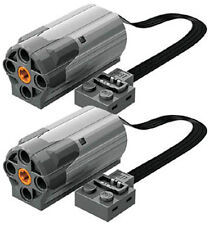 2 Lego Power Functions M-Motors  (technic,car,truck,tank,crane,steering,loader)