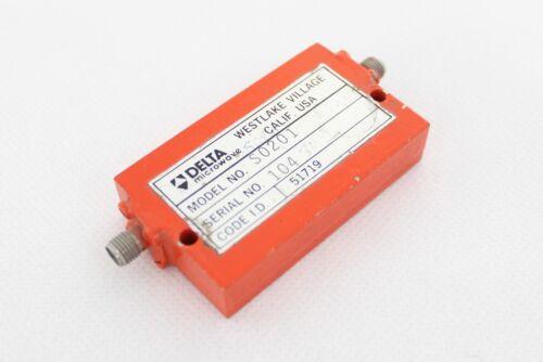 2-4 GHz Delta Microwave Filter Model S0201