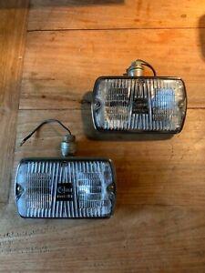 CIBIE-10DE-35-FOG-LIGHTS-PHARES-ANTIBROUILLARD-pair-all-chrome-NOS