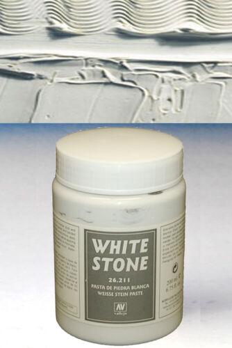 Vallejo Texture White Stone 26211 Bianco 26211 VALLEJO