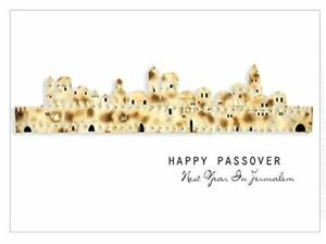 Passover greeting cards with envelopes pack of 5 jewish pesach image is loading passover greeting cards with envelopes pack of 5 m4hsunfo