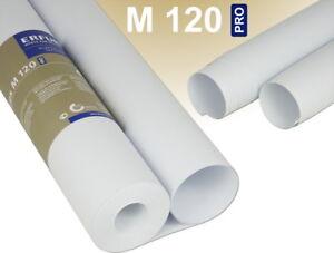 PROFHOME Renoviervlies 130 g Malervlies glatte Vliestapete weiß 168,75 qm 9 Rol