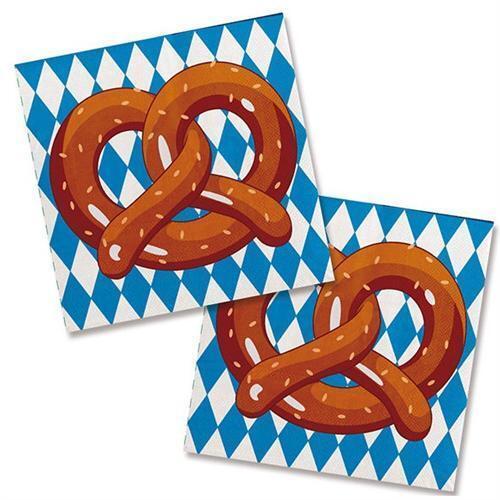 OKTOBERFEST BAYERN GAUDI Deko Party Bavaria Bayern Raute Tischdeko