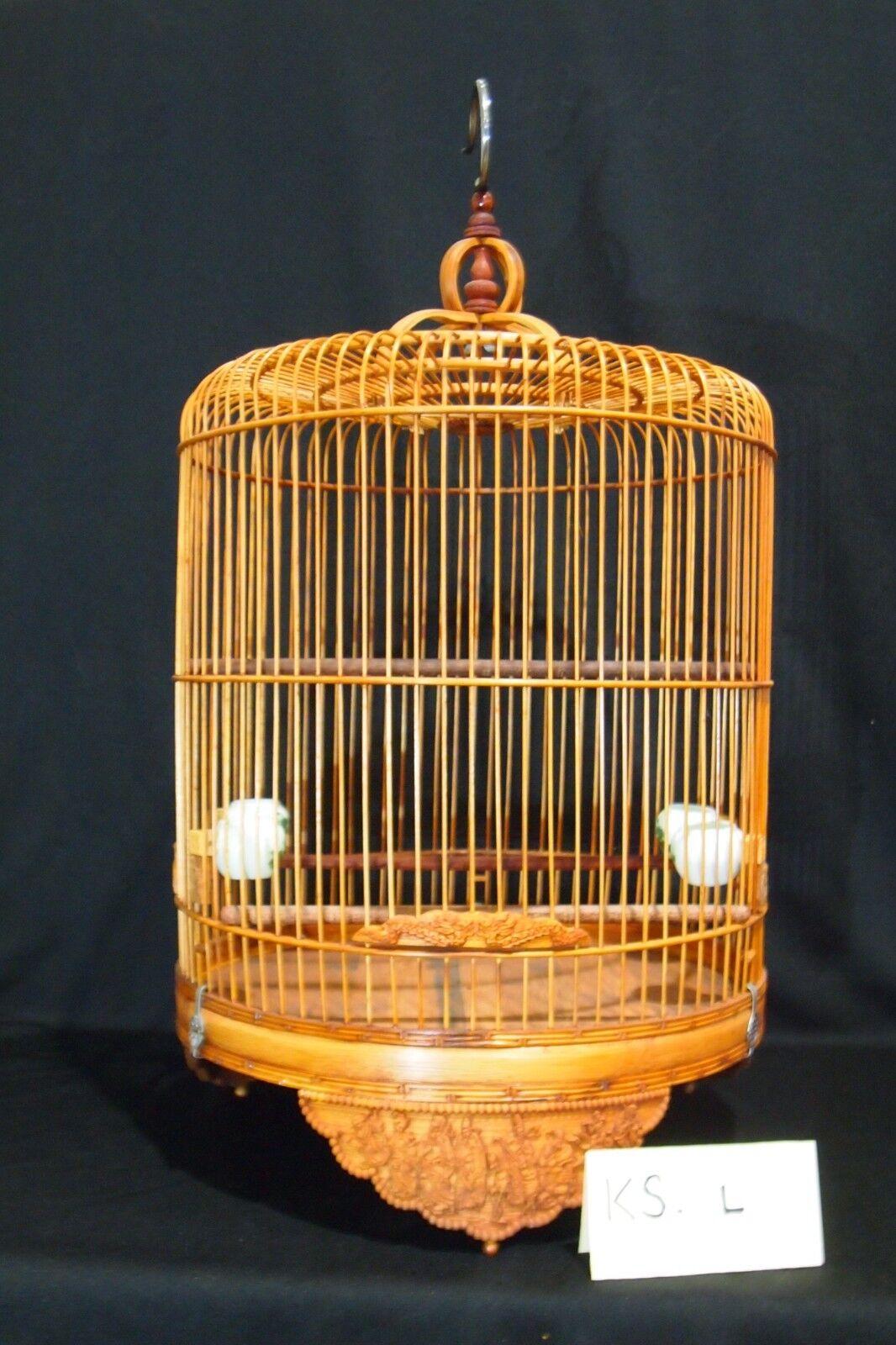 Asian Bamboo Bird Cage KS-L