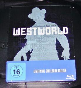 WESTWORLD-YUL-BRYNNER-LIMITADA-STEELBOOK-EDICIoN-BLU-RAY-ENV-O-RAPIDO-NUEVO