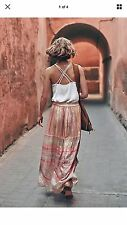 Anthropologie Daybreak Maxi Skirt By Blank Sz.L Large New With Tags $168