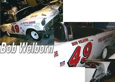 Fashion Style Cd_612 #49 Bob Welborn 1957 Chevy 1:64 Scale Decals ~overstock~ Decals