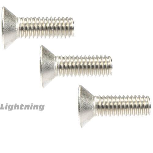 """Flat Head Socket Cap Screw Allen 316 Stainless Steel #4-40 x 1/"""" Qty 25"""