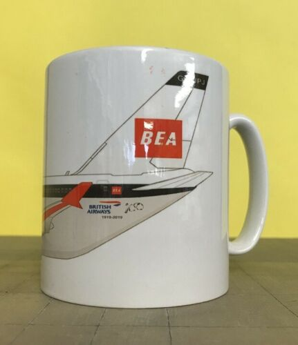 Airbus A319 BA BEA Characature Coffee Mug