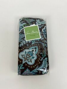 Vera-Bradley-Large-Zip-Travel-Organizer-Wallet-Jave-Blue-Retired-Pattern-NWT-42