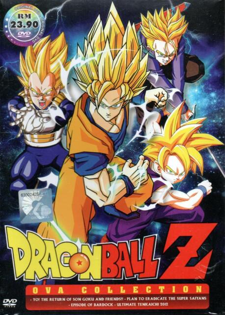 Anime Dvd Dragon Ball Z Ova Plan Of Eradicate Bardock Return Of Son Goku For Sale Online Ebay