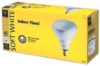 (2) Westpointe 70926 65br30/fl 3 Pack 65w Indoor Reflector Floodlight Bulbs