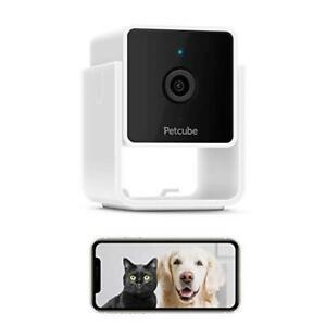 Petcube CC10US Cam Pet Monitoring Camera w/ Built-in Entire Home Surveillance -