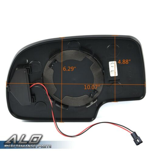Mirror Glass Heated Power Passenger Right Side For 2003-2007 Chevy GMC Cadillac