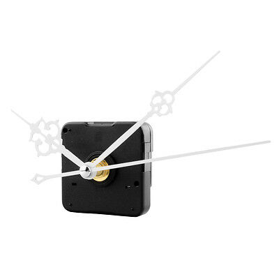 Clock Quartz Movement Mechanism White Hand DIY Replacement Repair Kit Tool