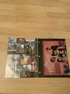 Vintage-Walt-Disney-Productions-Mickey-ads-Catalog-Together-At-Disney-1982-1986