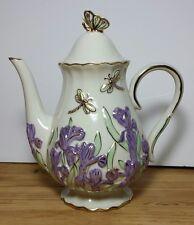Lenox The Springtime Splendor Teapot Artist Signed no box or papers