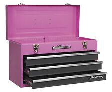 Edición Limitada Rosa Caja de herramientas 3 Cajones Caja de herramientas diapositivas del rodamiento de bolitas
