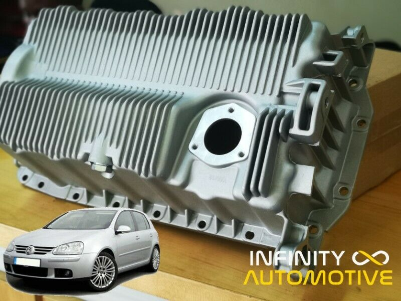 Oil sump cracked or damaged?  Call Infinity Automotive
