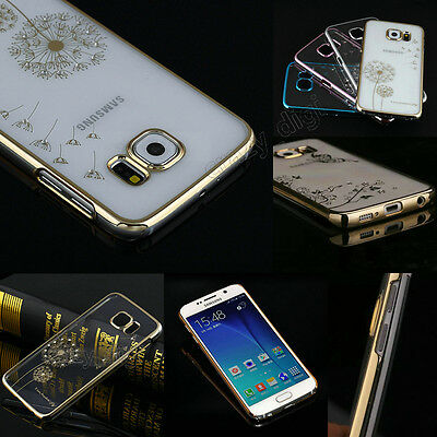 Ultra Thin Crystal Diamond Transparent Case Cover For Samsung Galaxy S6/S6 Edge