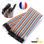 Cable-Dupont-20cm-Jumper-Wire-Linie-pour-Breadboard-Arduino-MM-MF-FF-TimerMart miniature 6