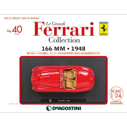 Deagostini 166 mm 1948 1 24  Modèle le Grandi Ferrari Collection No.40 Japon F   envoi gratuit dans le monde entier