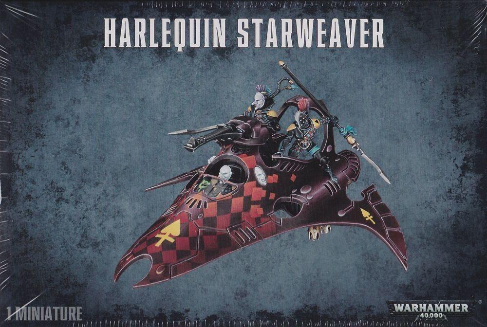 Harlequin estrellaweaver Eldar giocos  Officina Warhammer 40.000 40k GW 58-12 Viper  supporto al dettaglio all'ingrosso